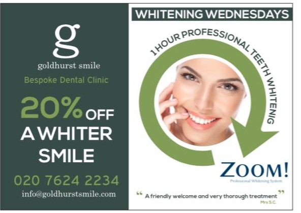 20% off A Whitter Smile