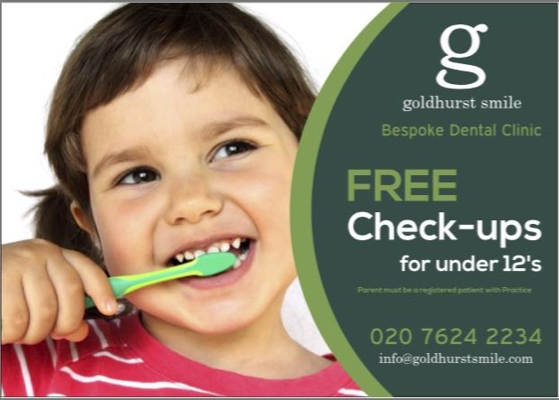 Free checkups for under 12's